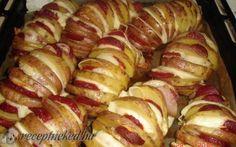 Töltött sült krumpli recept fotóval