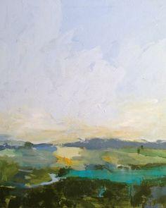 "Daily Paintworks - ""April Earth"" - Original Fine Art for Sale - © Pamela Munger"