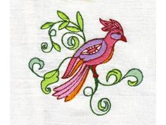 Jacobean Fantasy Birds Machine Embroidery Designs  http://www.designsbysick.com/details/jacobeanfantasybirds