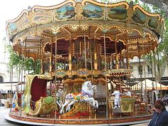 Old Carousel | ... came across this wonderful old style carousel i love carousels