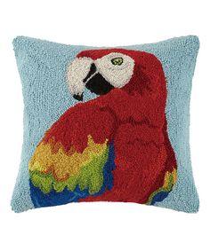 Love this Parrot Throw Pillow on #zulily! #zulilyfinds
