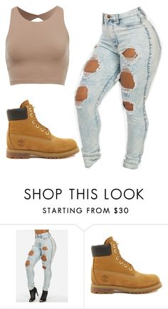 """""""Random #40"""" by zaddyshai ❤ liked on Polyvore featuring beauty and Timberland"""