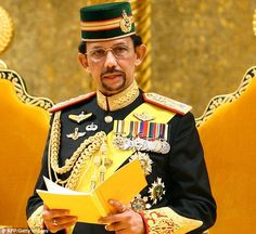 Banned Christmas: Oil-rich Brunei has banned public celebrations of Christmas for fear of Muslims being led astray, it was announced today. Pictured, Sultan of Brunei Hassanal Bolkiah - Israel News Online