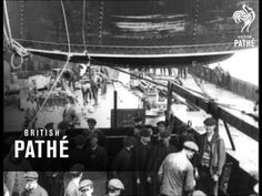 Launch Of Hmhs Britannic  (1914-1918)