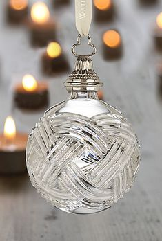 Waterford Times Square 2010 Ball Ornament, Limited Edition