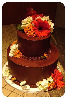 Wedding cake from local bakery in Columbia Heights, NW DC