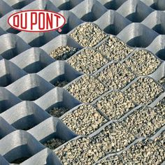 Ground Grid Gravel Guard Honeycomb Cellular Driveway 55mm x 50mm -10m2