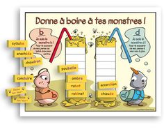 SERIES: The Monsters - Jeu de lecture - Elementary Cycle One Le great revenue Dagobert, Alternative Education, Daily Five, French Resources, French Immersion, French Class, First Grade Classroom, Grade 1, Literacy, Sons