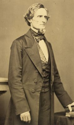 Jefferson Davis (1808-1889) President of the Confederate States of America (1861-1865)