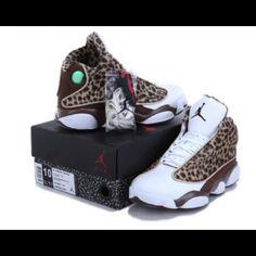 Air Jordan 13 Brown Leopard Print