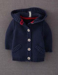 New knitting baby cardigan pattern boys Ideas Baby Knitting Patterns, Baby Boy Knitting, Knitting For Kids, Baby Patterns, Crochet Patterns, Baby Knits, Free Knitting, Knit Baby Sweaters, Boys Sweaters