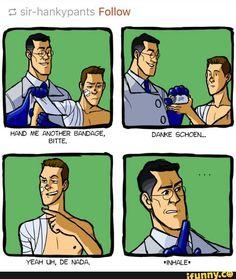 Sorry Medic but BURN! Lol jk