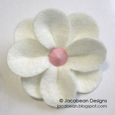 Felt Flower. So cute but it still won't be as cheap as buying it at Forever 21.