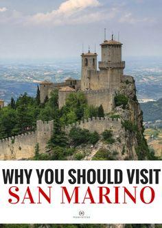 8 Reasons to Visit the Country of San Marino - Walks of Italy Italy Vacation, Italy Travel, Italy Trip, Summer Travel, Holiday Travel, Travel Goals, Travel Tips, San Marino Italy, Saint Marin