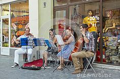 Download String Quartet Playing On The Street Stock Photo for free or as low as 0.68 lei. New users enjoy 60% OFF. 20,205,535 high-resolution stock photos and vector illustrations. Image: 35878480