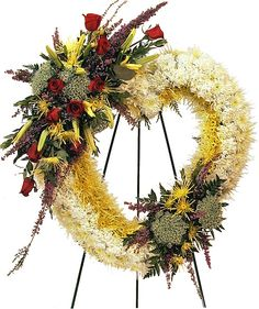 Image detail for -Endless Love - Funeral Wreaths and Crosses