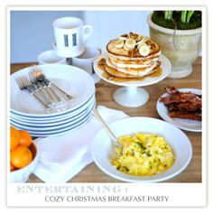 Jenny Steffens Hobick: Recipes | Easy Holiday Entertaining | Holiday Breakfast Party | Herbed Scrambled Eggs