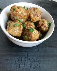 Swedish meatballs that are grain-free and keto and low carb friendly, but still taste just as amazing as the old tried and true recipe! Love them!