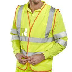 Hi Vis Pre Packed Multi Purpose Vest
