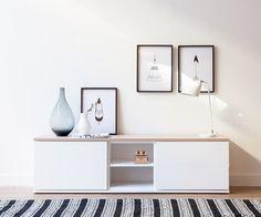 Trend mueble tv 160 cm con puertas