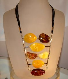 Souvenirs from Russia. Baltic Amber Necklace, Amber Jewelry, Statement Jewelry, Handcrafted Jewelry, Unique Jewelry, Ambre, Beaded Necklace, Necklaces, Necklace Designs