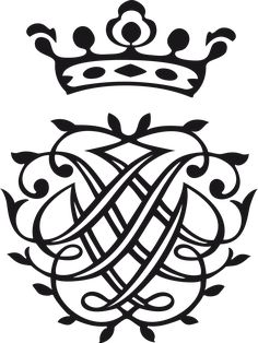 Sign of Johann Sebastian Bach. It contains the letters J S B superimposed over their mirror image topped with a crown. Sebastian Bach, Music Logo, Art Music, Johann Bach, Seal Tattoo, S Monogram, Music Composers, Letter J, Music Pictures