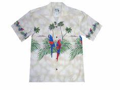 Hawaiian Shirts with Parrots, bartenders