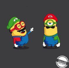 minions mashups super mario bros 470x464 40 Eye Popping Mashups of Minions