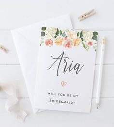 Are you interested in our will you be my bridesmaid? With our will you be my bridesmaid card you need look no further.