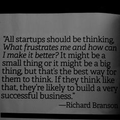 Very sound business advice Mr Branson. And he should know!  #richardbransonquotes
