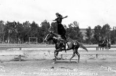 I never get tired of this picture ...Tillie Baldwin Fancy Riding, 1912 Pendleton round-up