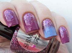 Love. Varnish, chocolate and more...: 31 Day Nail Art Challenge - Glitter Nails!