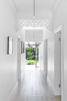 Melbourne based architecture and interior design practice. Modern Interior, Interior Styling, Interior Design, Style At Home, Edwardian Haus, Brunswick House, Architecture Design, Bungalow Renovation, Entry Hallway