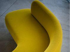 Sectional modular sofa STONE by Tacchini Italia Forniture design PearsonLloyd