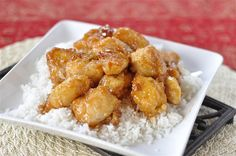 Sweet and Sour Chicken - the perfect easy, weeknight meal.