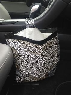 tan purse pouch for car