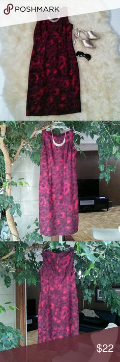 NWOT Martin + Osa Red Silk Dress  size 2 Gorgeous red silk dress,  NWOT, fully lined, zippered back , shift dress. Light weight, sleeveless, perfect for summer..  Banana Republic Martin + Osa. Be sure to remove the security tag before washing or wearing ( see photo). Martin + Osa  Dresses Midi