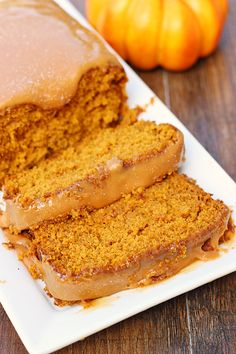 Salted Caramel Pumpkin Bread - Whats Cooking Love?