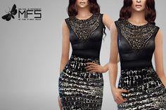 MissFortune Sims: Dahlia Dress • Sims 4 Downloads