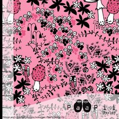 Mosspath organic jersey, light pink - PaaPii Design