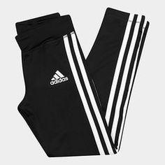 Calça Legging Infantil Adidas Yg Gu 3s Tight Feminina - Preto Cute Comfy Outfits, Sporty Outfits, Nike Outfits, Dance Outfits, Fashion Outfits, Sweatpants Outfit, Adidas Outfit, Pastel Outfit, Looks Adidas