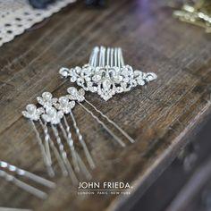 Elegant finishing touches... #BridalHair #WeddingHair #WeddingStyle #bridalstyle #weddinginspiration #weddinghairinspiration #bridalbeauty #weddinghairtips