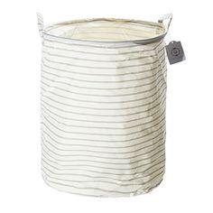 Elegant Large Fabric Laundry Basket