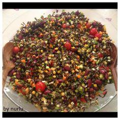 Good Food, Yummy Food, Favorite Recipes, Eat, Foods, Black Rice, Bulgur, Food Food, Food Items