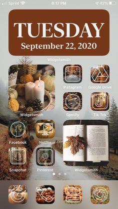 Iphone App Design, Iphone App Layout, Iphone Wallpaper App, Aesthetic Iphone Wallpaper, Iphone Life Hacks, Iphone Home Screen Layout, Ipad Ios, Ios App Icon, Phone Themes