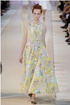 Rochas Spring 2014 Ready-to-Wear Fashion Show - Nika Cole (IMG)