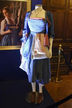 Emma Watson's Belle Opening Scene Dress <3