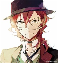 Find images and videos about boy, art and anime on We Heart It - the app to get lost in what you love. Bungou Stray Dogs Chuya, Stray Dogs Anime, Anime Guys, Manga Anime, Anime Art, Chuuya Nakahara, Art Sketches, Anime Characters, Mafia