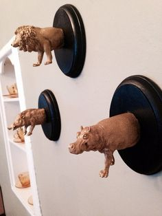 Tiny Taxidermy Wall Decor and Accessories Hook on Etsy, $10.00