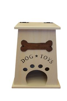 Dog Toy Box by CollegeViewCrafts on Etsy, $35.00